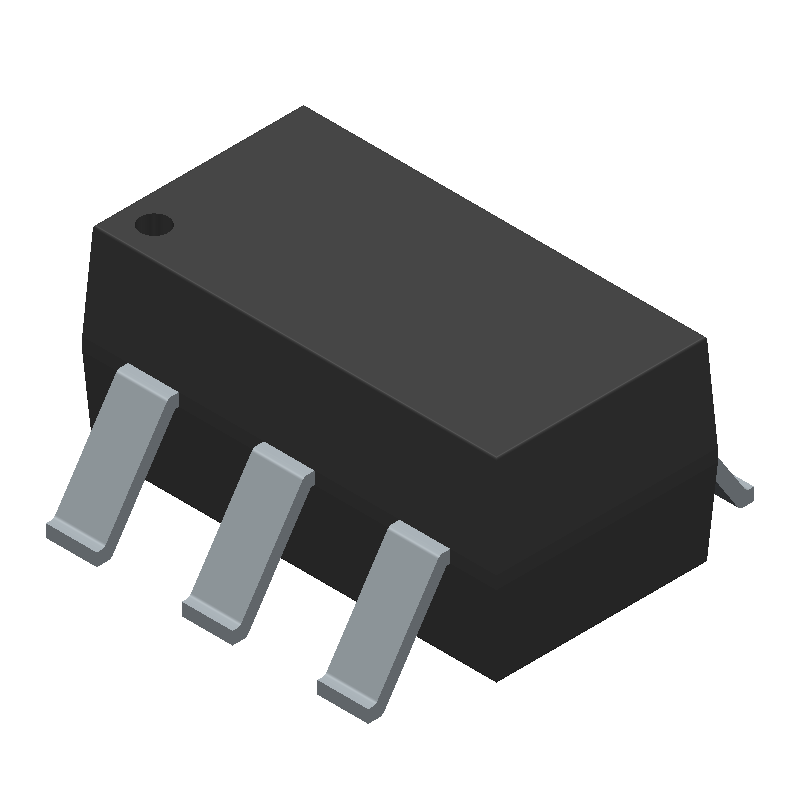 RF SOLUTIONS RF803E-SO (Small Outline Packages) 3D model isometric projection.