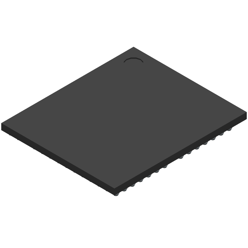 Cypress Semiconductor BCM4329FKUBGT (BGA) 3D model isometric projection.