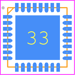 PCB Footprint for ESP8266-12F